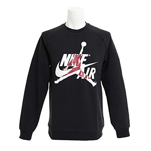 Jordan Jumpman Classics Crew t-Shirts Mens BV6006-010 Size L Black/White