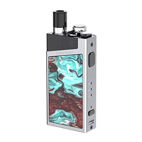 Smok Trinity Alpha All-In-One Kit 2.8ml 1000mAh 30W AIO Batterie Top Füllen Eingebauter Verdampfer (Prism Chrome)