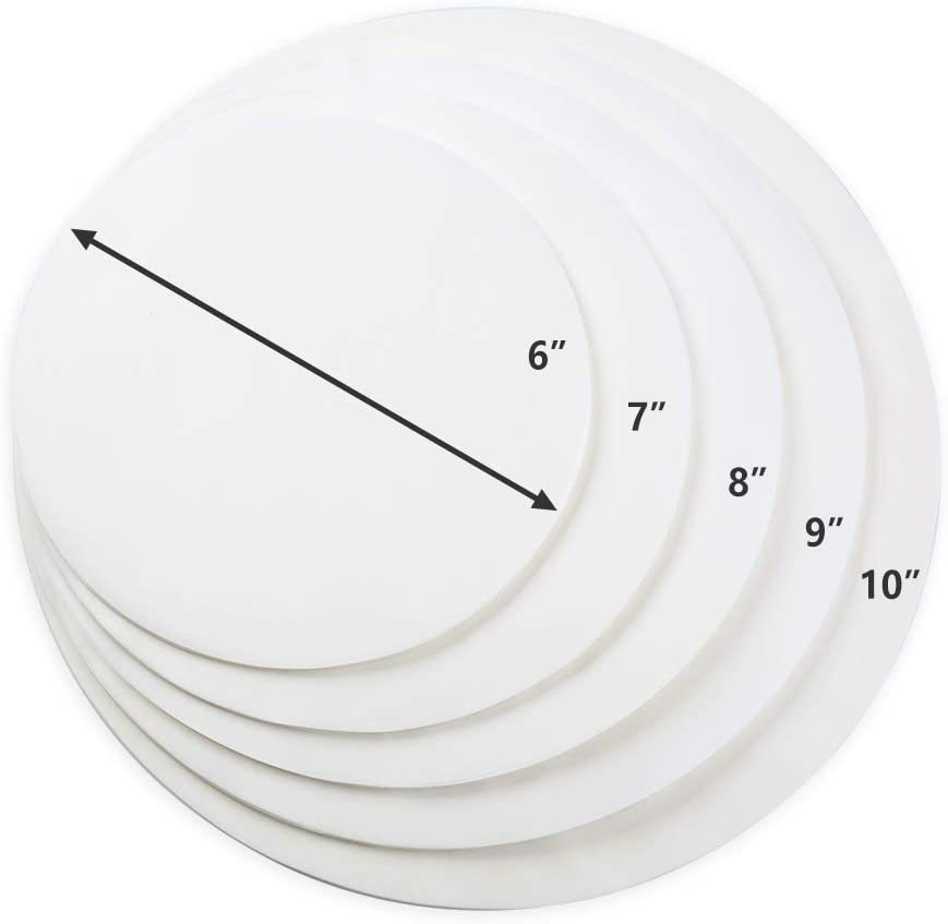 7inch Kasmoire 6 7 8 9 10 Inch Parchment Paper Rounds 200pack