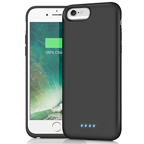 Battery Case for iPhone 6s Plus/6 Plus/7 Plus/8 Plus,8500mAh Rechargeable Charger Case External Battery Pack for iPhone 6s Plus/6 Plus/7 Plus/8 Plus Portable Charging Case Backup Power Bank(5.5 inch)