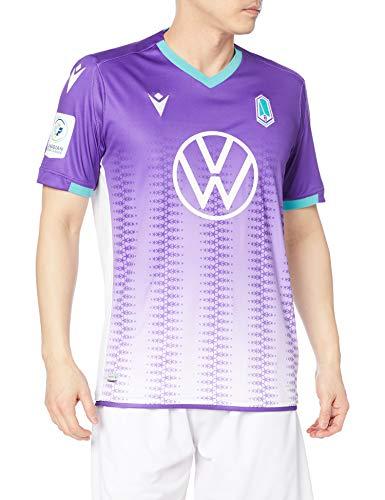 [マクロン] Tシャツ 20-21 FCPA パシフィック オーセンティックホームシャツ パープル (00) M