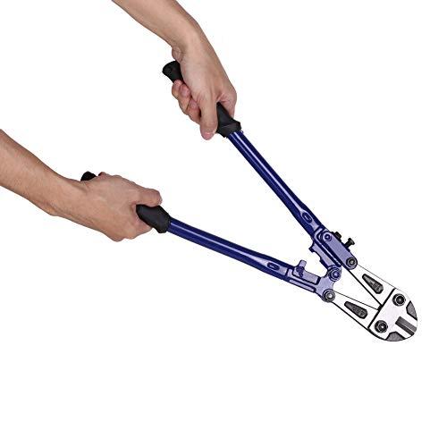 Cortador de pernos de Acero de Alto Carbono,Cuchilla de corte aceroT8,Remache reforzado,de mango ergonómico, resistente a la corrosión, cable cadena de cortador