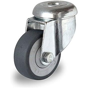 50 mm, Lenkrolle R/ückenloch Lenkrolle R/ückenloch 50 mm Lenkrollen