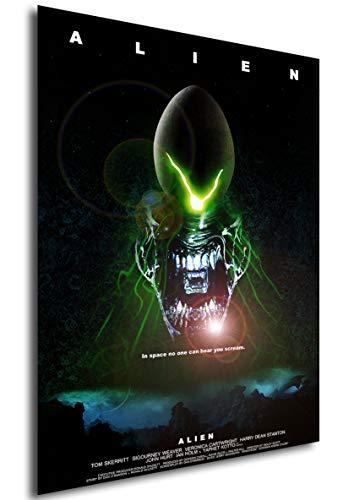 Instabuy Poster Alien (Alien: el Octavo Pasajero) Vintage Movie Poster - A3 (42x30 cm)