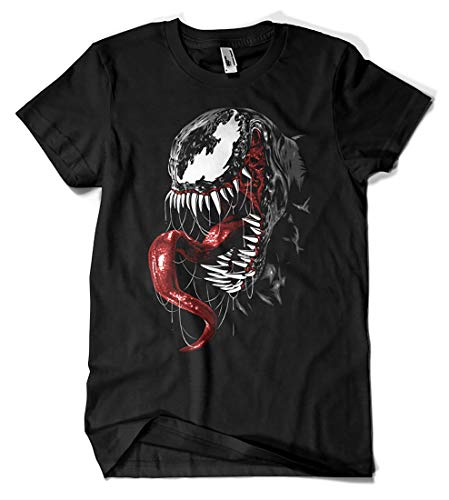 Camisetas La Colmena 4052-Venom Realista...
