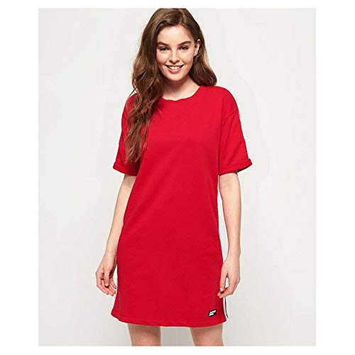 Superdry Georgia Short Sleeve Sweat Jurk Dames