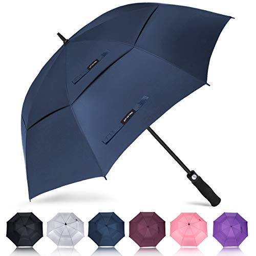 ZOMAKE Grand Parapluie Golf Automatique 158cm Double Canne,...