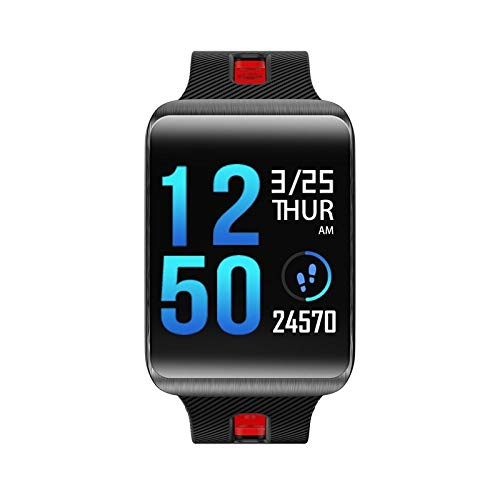 MOLINB Slim horloge Smart Watch IP67 Heren Hartslagmeter Fitness Dames Armband Activity Tracker Vervangbare riem
