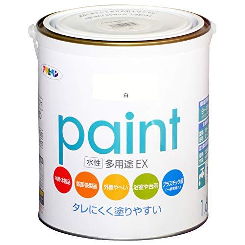 アサヒペン 水性多用途EX 1.6L 白