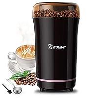 macinacaffè elettrico 300w con lama in acciaio inossidabile detachable power cord coffee grinder per chicchi di caffè macina spezie semi pepe zucchero sale