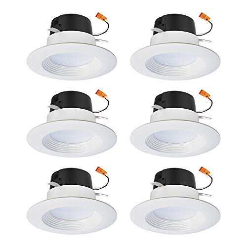 Halo LT460WH6930R-6PK LT 4 in. White Integrated LED Recessed Ceiling...