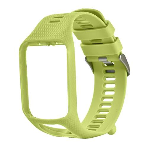 vbncvbfghfgh Band für Tomtom 1 Multi-Sport GPS HRM CSS Uhr Cardio Runner-Uhr-Silikon Soft Strap Armband Armband
