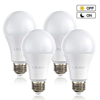 Litake LED Dusk to Dawn Sensor Light Bulbs