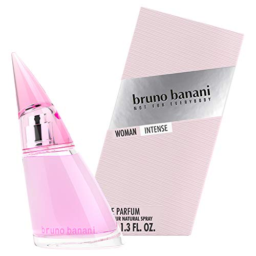bruno banani Woman Intense Eau de Toilette Natural Spray – bloemig-fruitige damesparfum – per stuk verpakt (1 x 20 ml) Eau de parfum, 40 ml. 40 ml multicolor