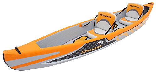 "Aqua Marina - Kayak Hinchable Tomahawk para 2 Personas (13'1"")"