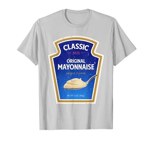 Mayonesa Halloween DIY Disfraz de grupo a juego Mayo Camiseta