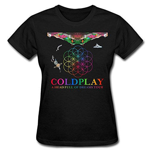 Donna's Coldplay A Head Full of Dreams Tour T-Shirt Small