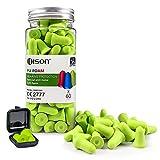 60Pair Ultra Soft Foam Earplugs, 35dB Ear Plugs for Sleeping Noise Cancelling, Earplugs Sound Blocking Sleeping, Foam Ear Plugs for Shooting, Travel, Industry - DISON