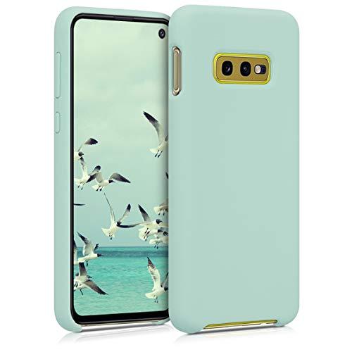 kwmobile Funda Compatible con Samsung Galaxy S10e - Funda Carcasa de TPU para móvil - Cover Trasero en Menta Mate