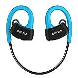 Nuovo DACOM P10 IPX7 auricolare Bluetooth impermeabile della cuffia armatura Cuffie Bluetooth auricolari 4.1 auricolare senza fili (BLUE)