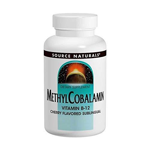 Source Naturals, Methylcobalamin, Kirschgeschmack, 1 mg, 120 BioLingual-Lutschtabletten