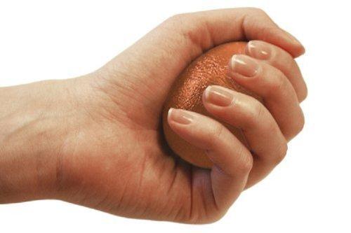 SISSEL Handtrainer Press-Egg, orange, extra-stark, 2193 by Sissel