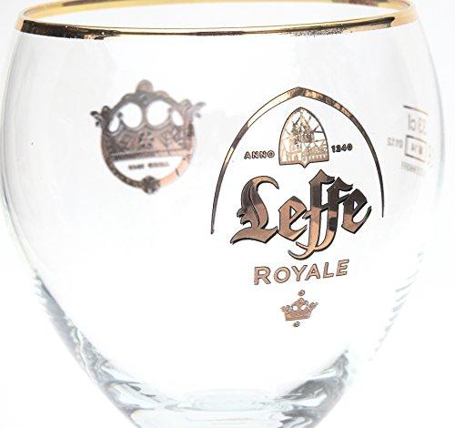Leffe Bierkelch, mit Logo von 'Leffe Royale'