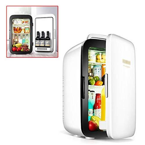 Kühlschränke Auto Kühlschrank Silent Getränkekühlschrank schnelles Auto Kühlschrank 25L intelligente Kühlschrank Kühlung, drehen Sie den Bildschirm berühren (Color : Weiß, Size : 51 * 34 * 31cm)