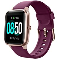 YAMAY IP68 Waterproof Fitness Tracker Smart Watch with Heart Rate Monitor (various colors)