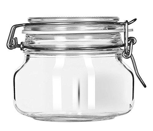 Borgonovo Primizie Contenedor Hermético de Vidrio de 500 ml