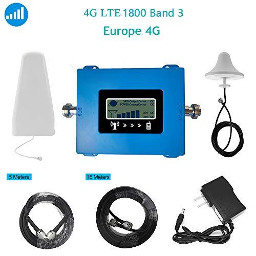 Amplificatore del Segnale 4G LTE 800 Band20 / 1800 Band3 / 2100 B1 / 2600 Band7 ripetitore del Segnale di frequenza Mobile Antenna Kit Venditore Professionale ripetitore Mobile,B3/1800mhz