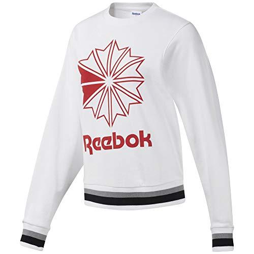 Reebok Classics 4061626108101 Sweater, Negro/Blanco, M EU Womens