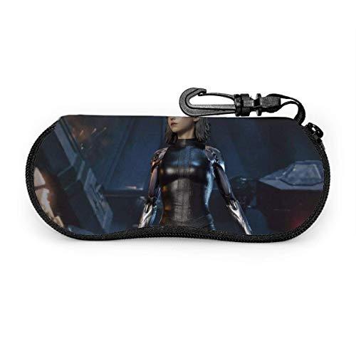 Sunglasses Case,Caja De Gafas Alita Battle Angel, Elegantes Cajas De Gafas Para El Hogar Al Aire Libre,17x8cm