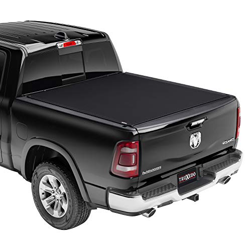 TruXedo Pro X15 Soft Roll Up Truck Bed Tonneau Cover | 1463801 | fits 2007 - 2021 Toyota Tundra w/Track System (Excludes Trail Special Edition Storage Boxes) 5' 7' Bed (66.7')