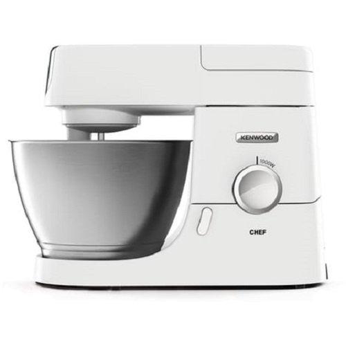Kenwood KVC3100W 1000W 4.6L Blanco - Robot de cocina (4,6 L, Blanco, Acero inoxidable, Metal, 1000 W, 380 mm)