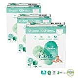 Couches Pampers - Taille 1 pure protection - 200 couches bébé