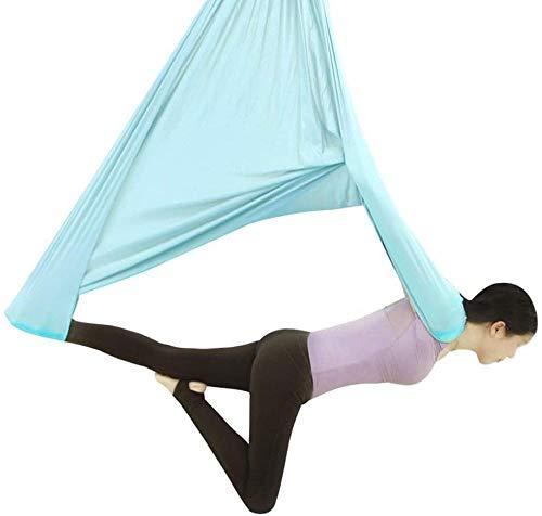 TYCLWXSP0 Anti-Gravity Yoga Hamaca Fitness Colgante Grip Sling Sling Yoga Aéreo para Gimnasio en Casa