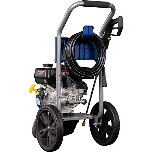 Westinghouse Outdoor Power Equipment WPX3200 Gas Powered Pressure Washer 3200 PSI and 2.5 GPM, Soap Tank and Five Nozzle Set, CARB Compliant