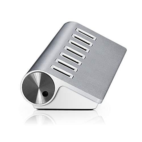 JEYSTECH Hub USB 3.0 Super Veloce 5GBPS in Alluminio con 7 Porte Compatibile con Mac Windows Linux e con USB 2.0/1.1 Protezione e sovratensione Integrata (7 Porte)