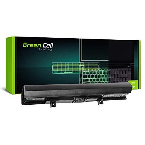 Green Cell Batería para Toshiba Satellite L50-B-188 L50-B-18C L50-B-18D L50-B-18E L50-B-18K L50-B-192 L50-B-196 L50-B-19L L50-B-19M L50-B-1C9 L50-B-1CC Portátil (2200mAh 14.4V Negro)
