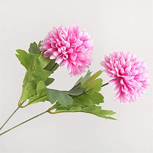 Mimitool Artificial Flower,Fake 9-headed chrysanthemum Silk Bridal Realistic Bouquet Christmas Party Home Hotel Office Garden Decorative