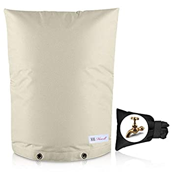Backflow Preventer cover insulated for outdoor winter Insulated pipe well pump spigot sprinkler valve cover Irrigation backflow cover INCLUDES  1 reusable faucet winter freeze protection bag
