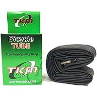 "TKM 10983- Cámara de aire Antipinchazos para Bicicleta MTB Super Reforzada 29"" X1.95/2.125/2.35 Válvula Fina F/V"
