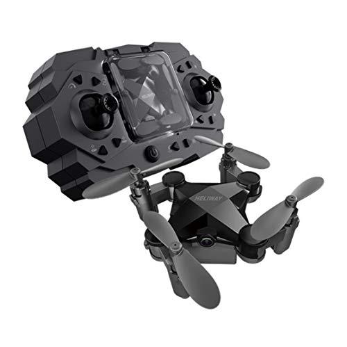 Drone afstandsbediening vliegtuig mini drone vouwen vier-rotor vliegen photography jongen meisje kind volwassen speelgoed zwart