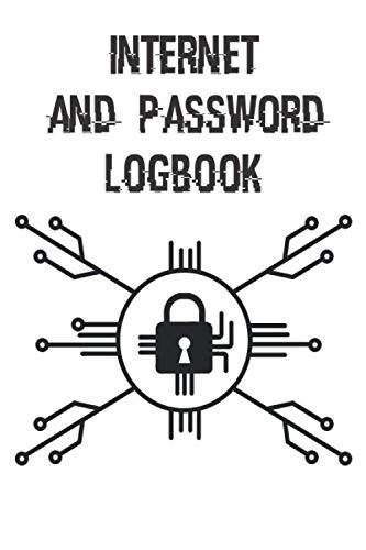 Internet and password logbook: Password keeper, wtf is my password book, log book with tabs, Alphabetized pages, designed to keep all your important ... passwords in one secure and convenient place