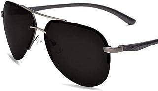 ZYIZEE - Gafas de Sol Gafas de Sol polarizadas UV400 para Hombre para Conducir Viajes en Coche Gafas de Sol Originales de Lujo para Hombre de Aluminio para Hombre