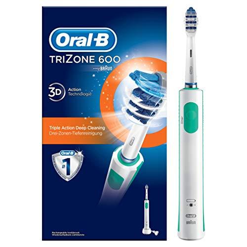 Oral-B TriZone 600 Spazzolino Elettrico Ricaricabile, Edizione Braun