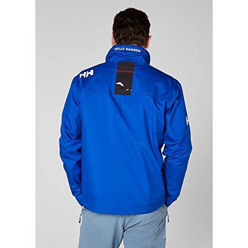 Helly Hansen Crew Midlayer Jacket, Giacca Impermeabile Uomo, Blu Olimpo, L