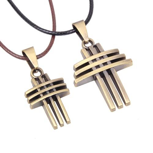 Bosi General Merchandise Collar de Cruz, joyería de Moda, Fideos de aleación, Regalo Creativo, colección