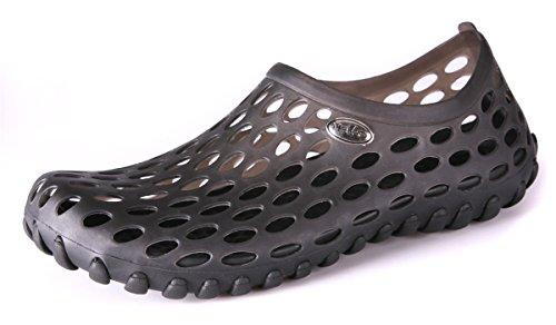clapzovr Mens Sandals Shower Water Shoes Beach Swim Pool River Shoes Comfort Garden Clogs